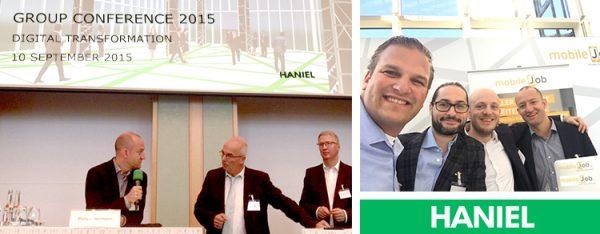 """Philipp Herrmann, Geschäftsführer von etventure zu Gast auf der HANIEL Group Conference. Sein Vortrag """"Digitale Transformation mit Digital-Units"""" sorgte für Inspiration."""