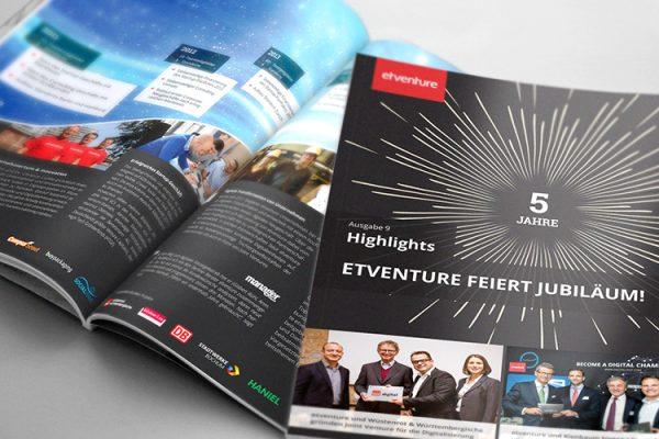 The most important topics: etventure celebrates 5th anniversary