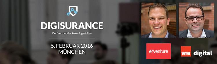 etventure and W&W Digital GmbH at Digisurance