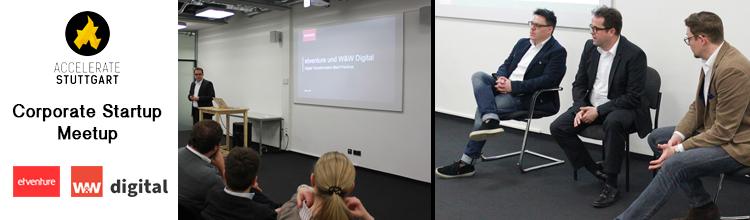 W&W Digital GmbH beim Corporate Startup Meetup