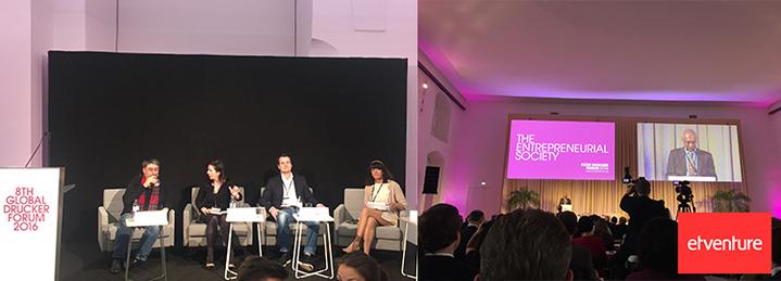 etventure beim Global Peter Drucker Forum