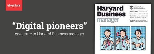 "Harvard Business Manager - Consulting 4.0: the ""Digital Pioneers"""