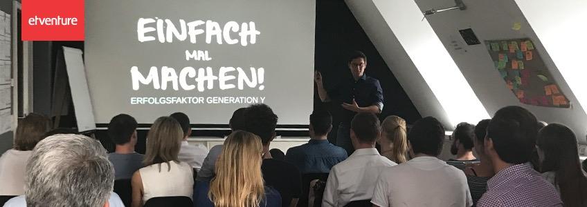 """Traumberuf Gründer: """"Einfach mal machen!"""" - Generation Y"""