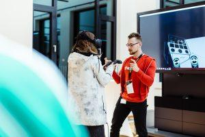Im wavespace Berlin sind Trends und Technologien hautnah erlebbar