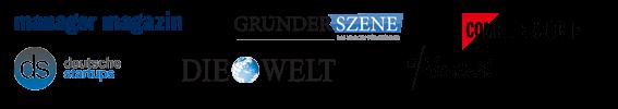 Kloeckner & Co bekannt aus Manager Magazin, Gründerszene, Deutsche Startups, uvm.