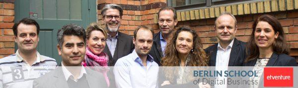 Der neugegründete Fachbeirat der Berlin School of Digital Business.