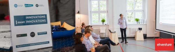 "etventure beim Network-Event ""INNOVATIONS meet INNOVATIONS"" in Berlin"