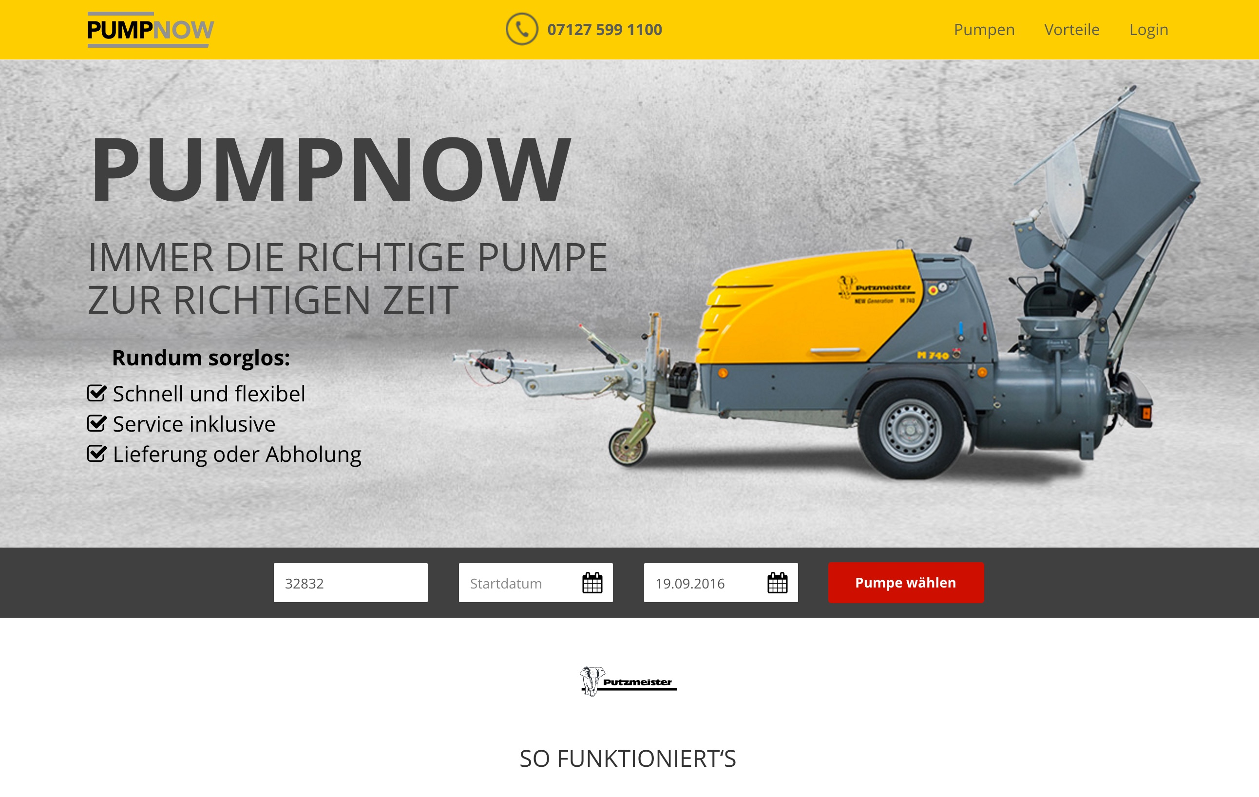Construction Machines of the Future: Putzmeister and etventure Jointly Develop Digital Business Models