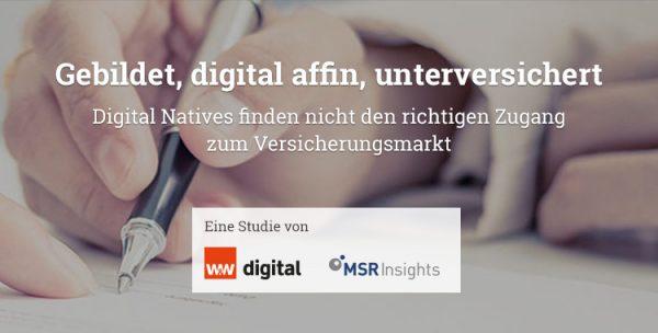 Insurance for Digital Natives'